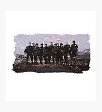 WW11 Airborne Photographic Print