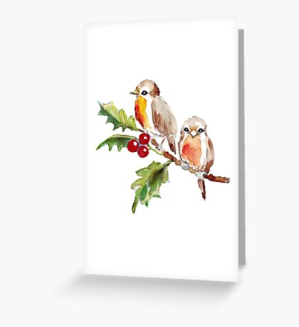 Two Little Birds 3 Greeting Card