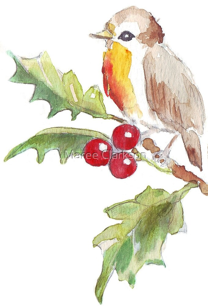 One Little Bird 2 by Maree Clarkson