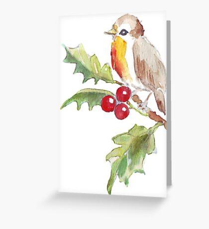 One Little Bird 2 Greeting Card