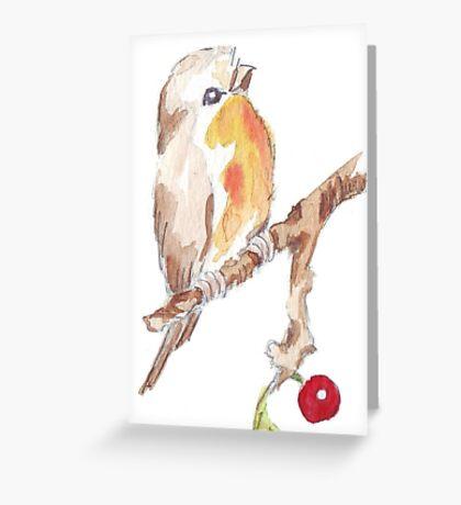 One Little Bird 1 Greeting Card