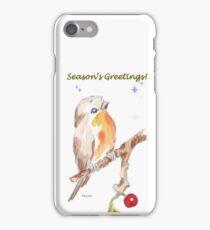 1 Little Bird - Season's Greetings! iPhone Case/Skin