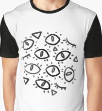 Many Eyes Graphic T-Shirt