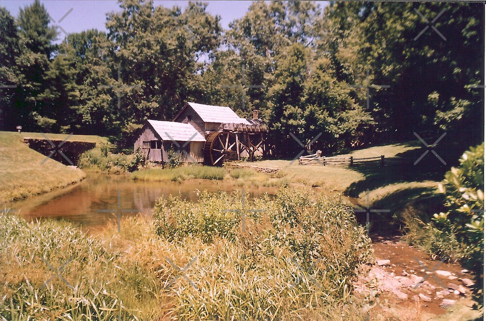 Old Mill by Sheila Simpson