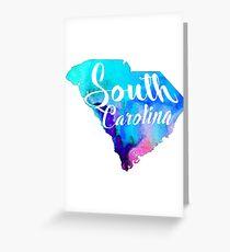 SC - Watercolor Greeting Card