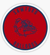 Samford University - Bulldogs Sticker