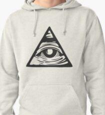 Illuminati eye Pullover Hoodie