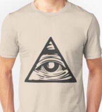 Camiseta unisex Ojo Illuminati