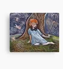 Little angels Canvas Print