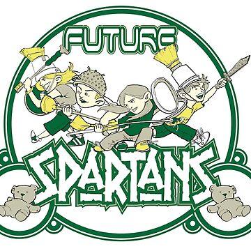 Future Spartans by jvollmer