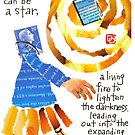 Stamp People Series (A Book Can Be A Star) by dosankodebbie