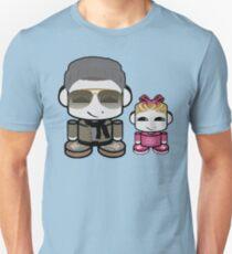 Mr. Boutit & Lil O'BOT Toy Robot Slim Fit T-Shirt