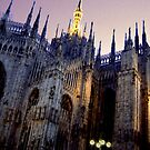 The Duomo at Night by Lee Kerr