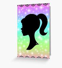 Barbie Greeting Card