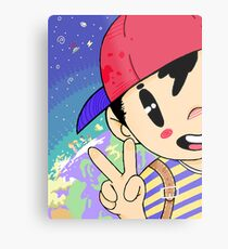 Earthbound Ness Metal Print