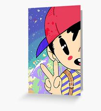 Earthbound Ness Greeting Card