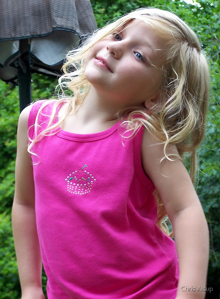 my daughter being a diva by Chris Alsup