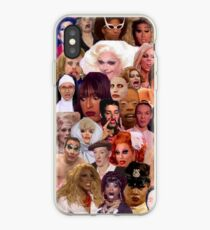 Iconic Drag Queens collage  iPhone Case