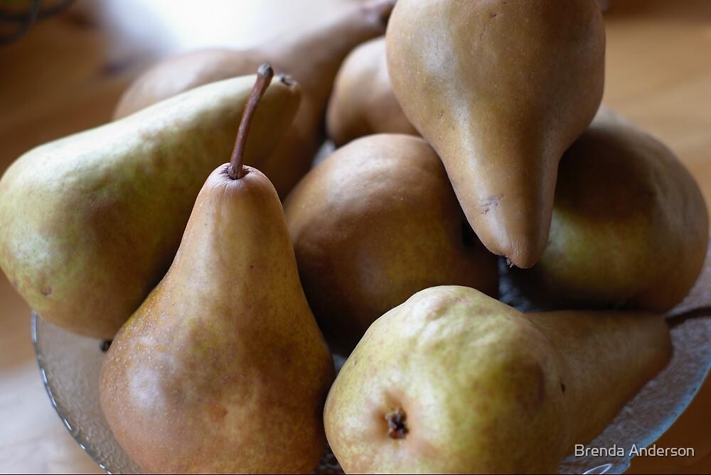pears by Brenda Anderson