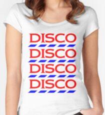 Disco Tesco Women's Fitted Scoop T-Shirt