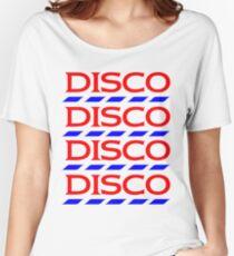 Disco Tesco Women's Relaxed Fit T-Shirt