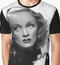 Marlene Dietrich Graphic T-Shirt