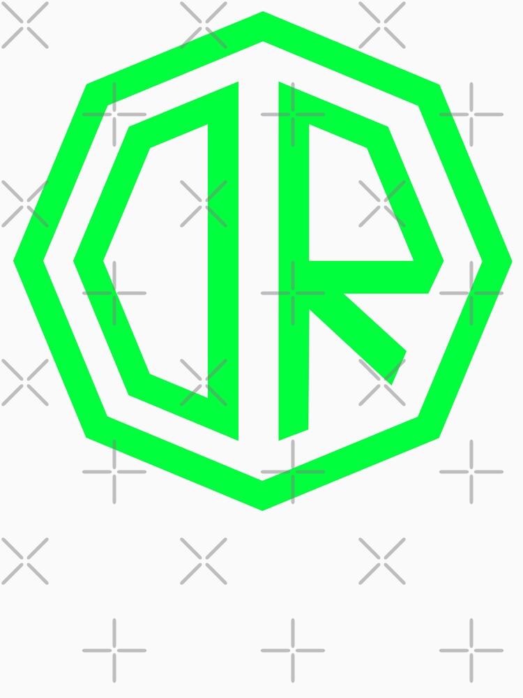 Dr. Octagon Octagynacologist Mowax Logo replica imprimir verde de TheJBeez