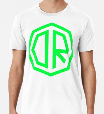 Dr. Octagon Octagynacologist Mowax Logo replica print green Premium T-Shirt