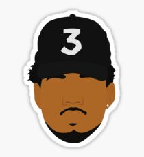 CHANCE -- THE RAPPER Sticker