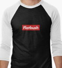 Camiseta ¾ bicolor para hombre Zombies Flatbush