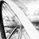 The Elizabeth Quay Bridge. by malcblue