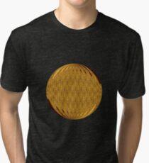 Gold Circle Tri-blend T-Shirt