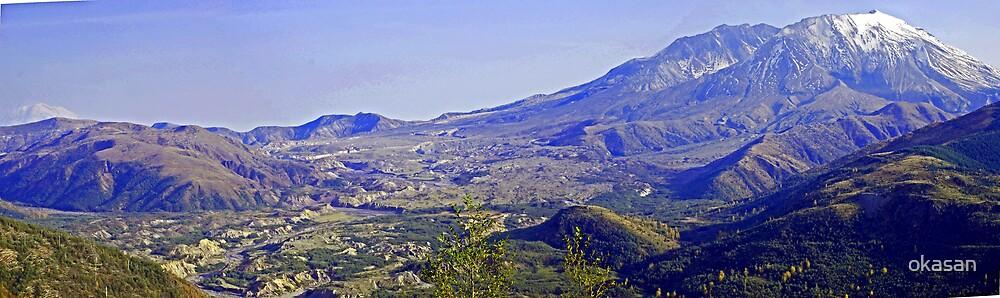 Mt St. Helen by okasan
