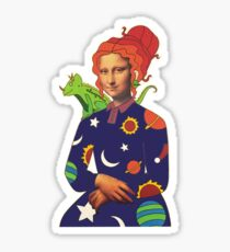 Mona Frizzle Sticker