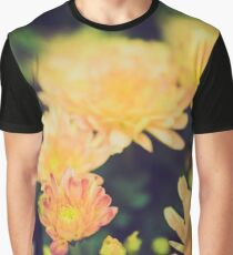 Chrysanthmums Impressions Graphic T-Shirt