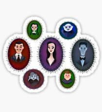 Family Portrait  Sticker