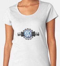 VW Flat four Aircooled Women's Premium T-Shirt