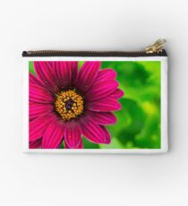 Vivid Red Flower And Spring Pollen Studio Pouch