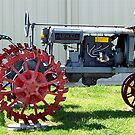 Farmall Tractor by Glenna Walker