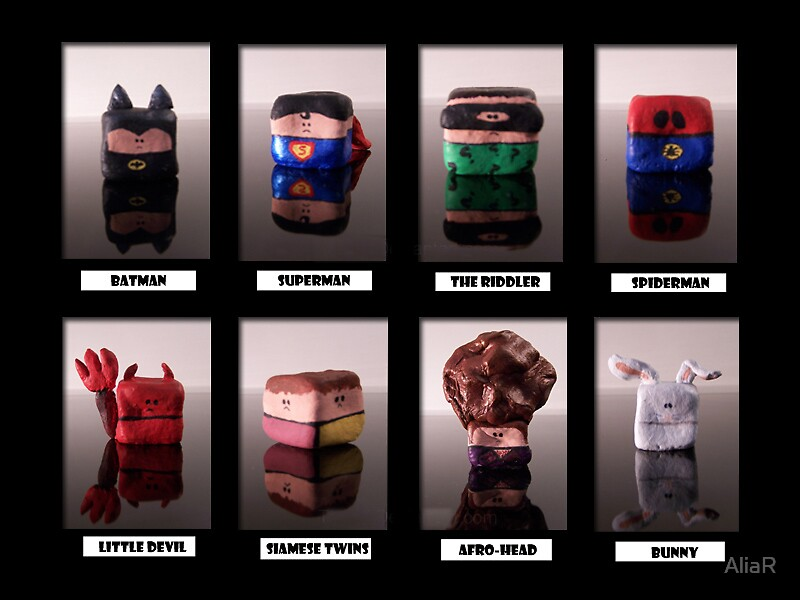 Cubed Characters by AliaR