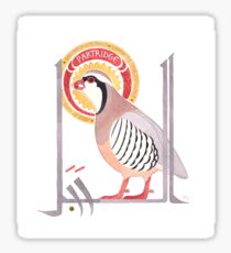 The Conference of the Birds: The Partridge Sticker