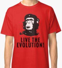 Live the evolution Che monkey Darwin Classic T-Shirt