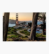 A Different View of the Golden Gate Photographic Print