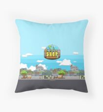 Shop Empire 3 #1 Throw Pillow