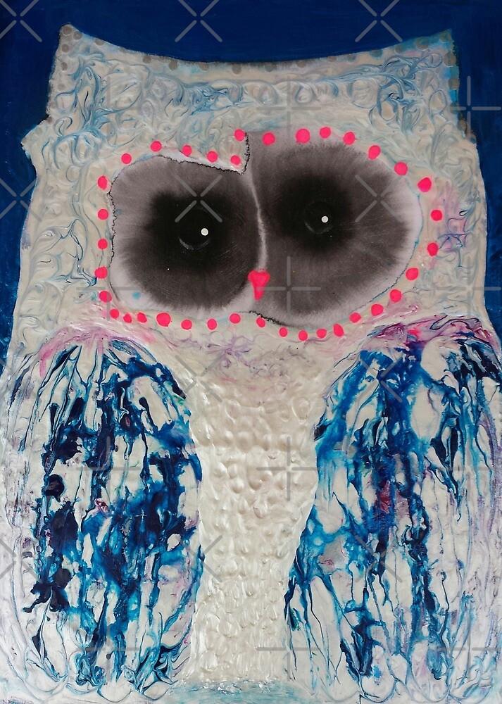 Sweet Owl by Julie  Sutherland