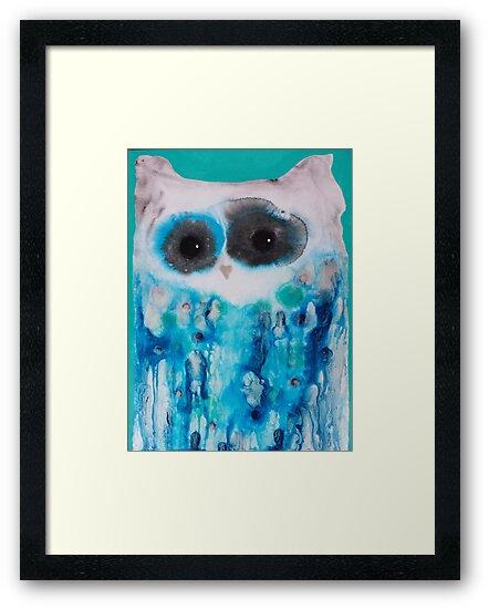 Blue Owl by Julie  Sutherland