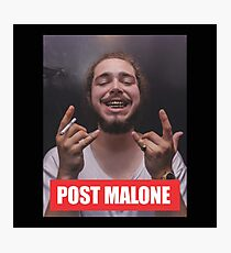 Post Malone Photographic Print