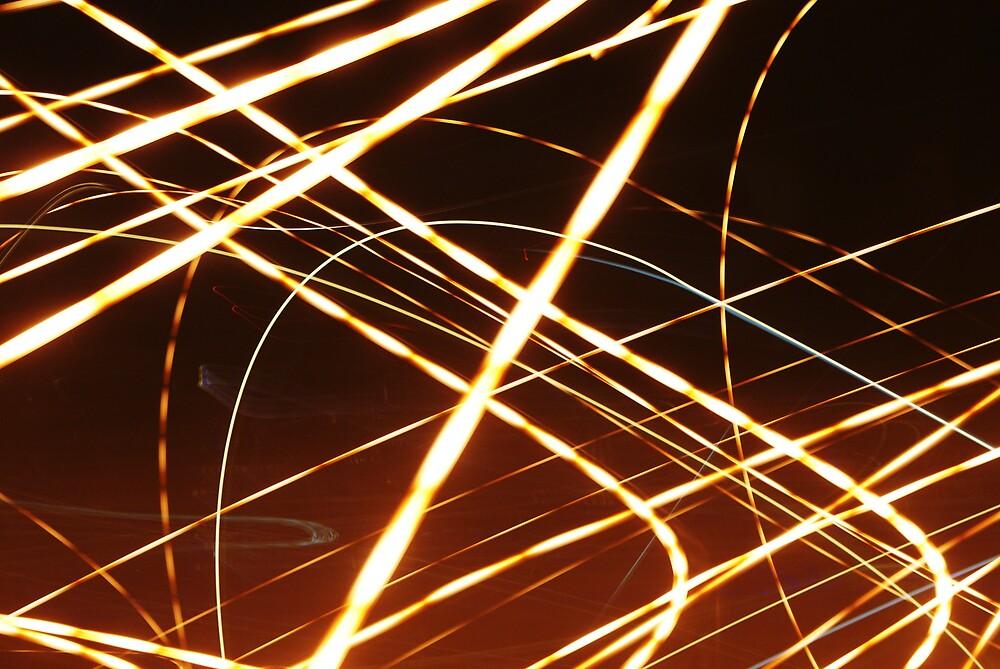 abstract street lights by Joey  Visser