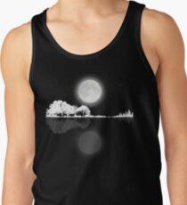 Camisetas de tirantes para hombre Noche de guitarra de naturaleza