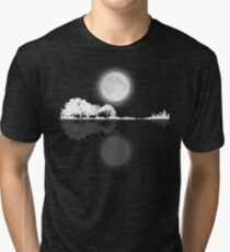 Nature Guitar Night Tri-blend T-Shirt